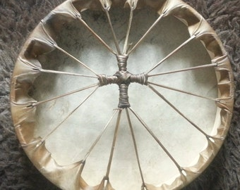 "14"" Stag Shamanic Drum - Made to Order"