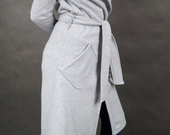 Grey Hood coat