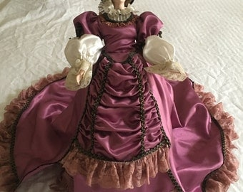 Vintage Treasures Forever Doll with Stand