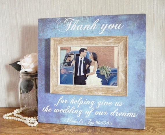 Thank You Gifts For Parents At Wedding: Parents Thank You Wedding Gift