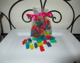 Gummy Bear Mini Soaps