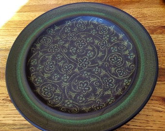 Franciscan Earthenware Green Plate