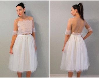 Tulle skirt, ivory tulle skirt, wedding tulle skirt, plus size tulle skirt, plus size skirt, women tulle skirt, adult tulle skirt, skirt.