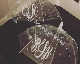 Umbrella, Children's Personalized Clear Dome Umbrella, Christmas Gift, Birthday Gift, Easter Basket gift