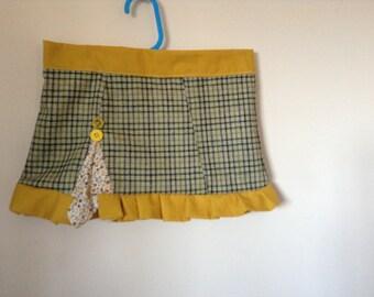 Handmade Tweed Skirt-available with waistcoast