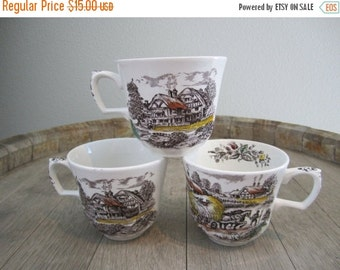 25% OFF English Countryside Tea Cups (Set of 3)