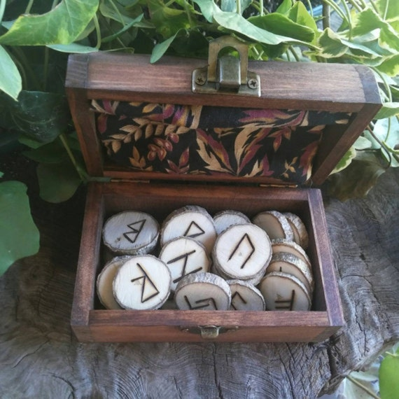 Maple elder futhark runes maple runes futhark runes wooden for Elder wand runes
