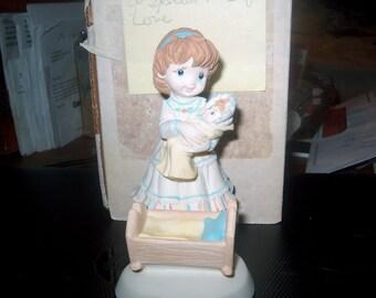 Vintage Sweet Dreams Figurine, Susan Renee, A Special Kind of Love, WAS 12.50 - 50% = 6.25, By JoAnne Wanat