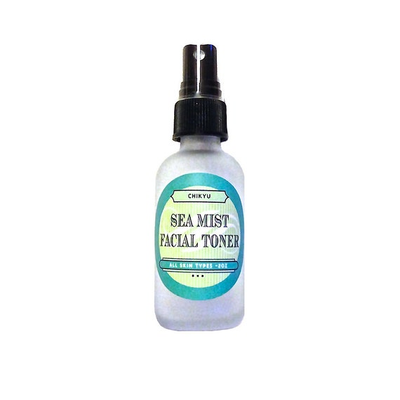 SEA MIST Facial Toner, Seaweed Facial Toner, Aloe Vera Face Toner, Rose Face Toner, Witch Hazel Face Toner,  Vegan Toner