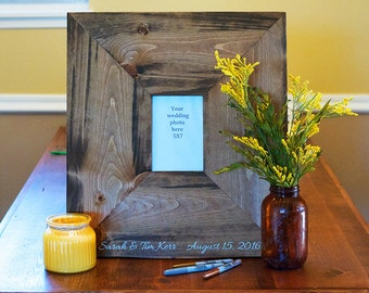 Rustic Wedding Guestbook, Wedding Guestbook Alternative, Picture Frame Wedding Guest Book, Wedding Guestbook, Rustic Wedding Decor