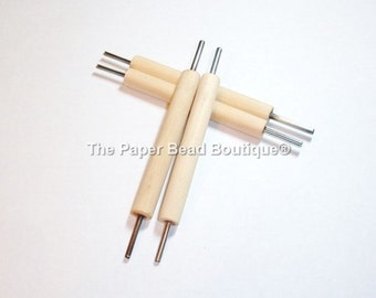 Paper Bead Rolling Tool, Slotted, Double Ended, Paper Bead Making, Tools, Craft Tools *You recieve ONE Tool*