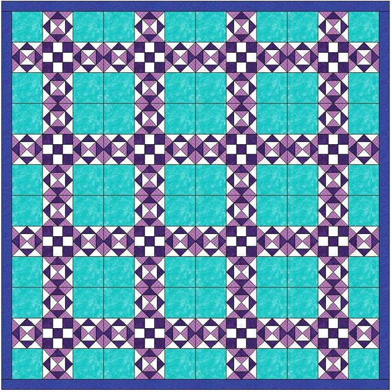 Santa Fe 10 Inch Paper Foundation Quilting Block Pattern