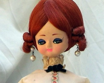 Music Box Bradley Doll, vintage doll