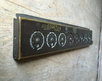 Vintage Addometer calculator. Cool Tool !