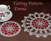 Doily Tatting Pattern Emma