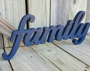 Family sign, wall hanging, home decor, wall decor