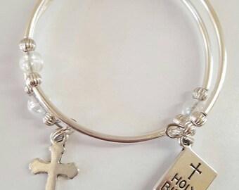 First Communion Children's Charm Bracelet