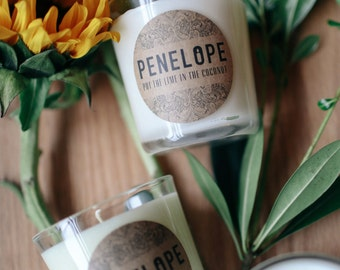 Your Choice of Five, 8.5 oz. Penelope Soy Candle