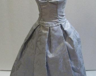 blue doll dress Msd size