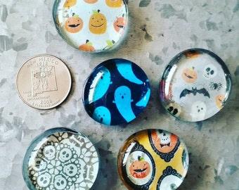 Halloween Magnets Set of 5