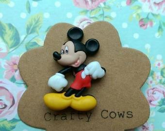 Mickey Mouse brooch Mickey pin badge Disney badge Disney Mickey Mouse gift Disney accessory