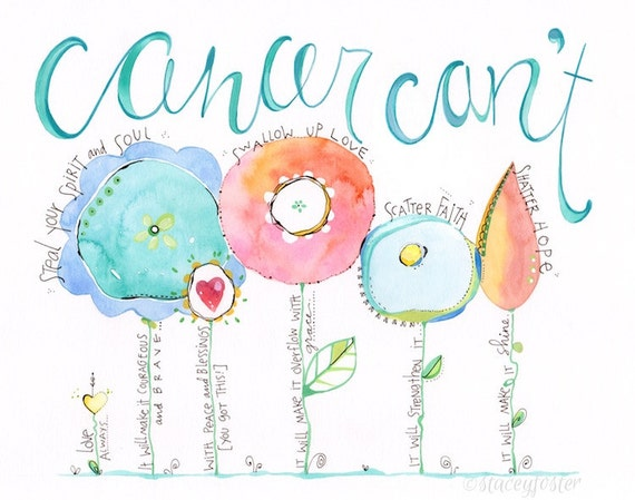 Encouragement Gift Cancer Gift Inspirational Gift Cancer – Dibujos