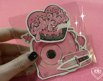 GIRLY STUFF (stickers) NEW