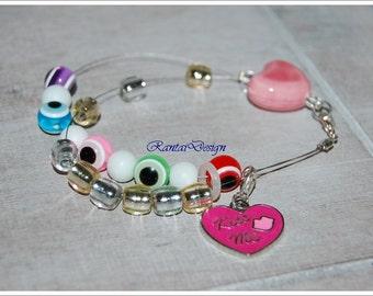 row counter abacus knitters gift rowcounter bracelet knitting supplies crochet gift crochet supplies