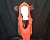 Wicket the Ewok inspired hood for Star Wars fans