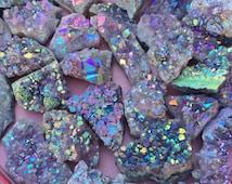 Opal Aura Amethyst