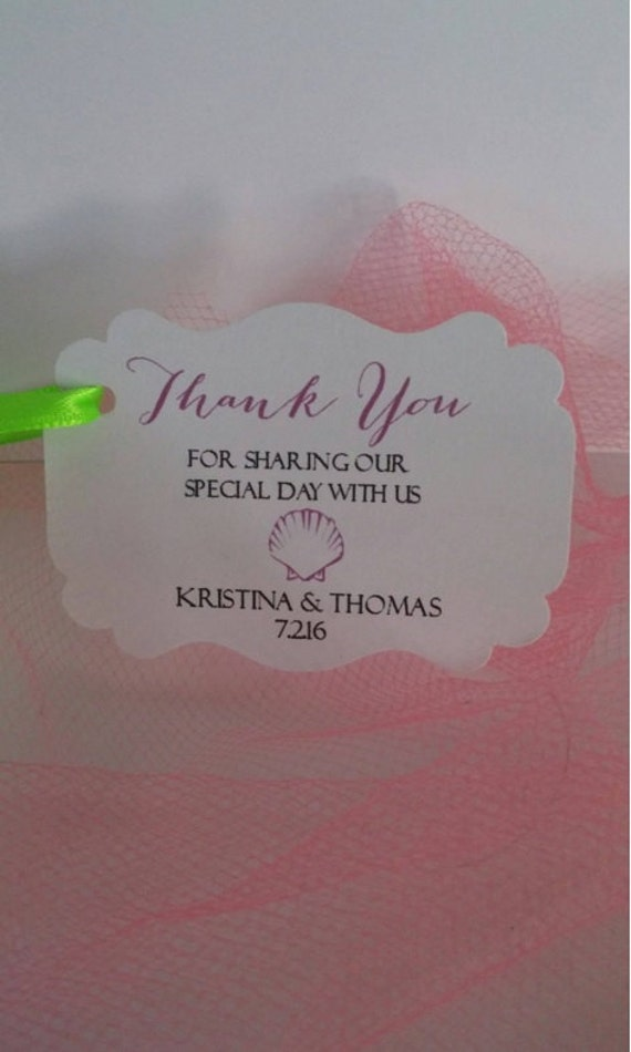 Wedding Favor Tags Beach : favorite favorited like this item add it to your favorites to revisit ...