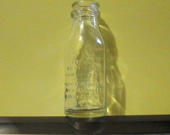 Edison Battery Oil Bottle
