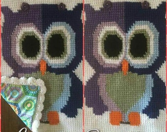 Hoots the  Friendly Owl Wall Hanging