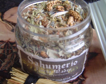 Smudging mother earth /Limpieza and purification