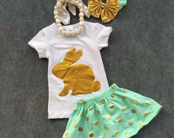 Pre-order 4-Piece Toddler/Girl Bunny set
