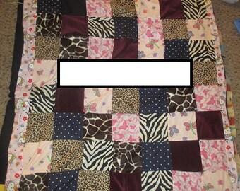 Handmade Toddler Quilt