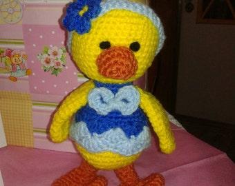 Little Miss Yellow Duckie