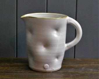 3 Pint Ale Jug- Handmade Pottery