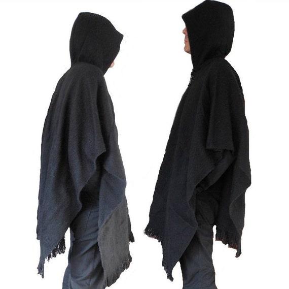 Fashion Poncho Mens