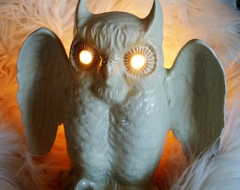 Kron Vintage Owl TV Lamp