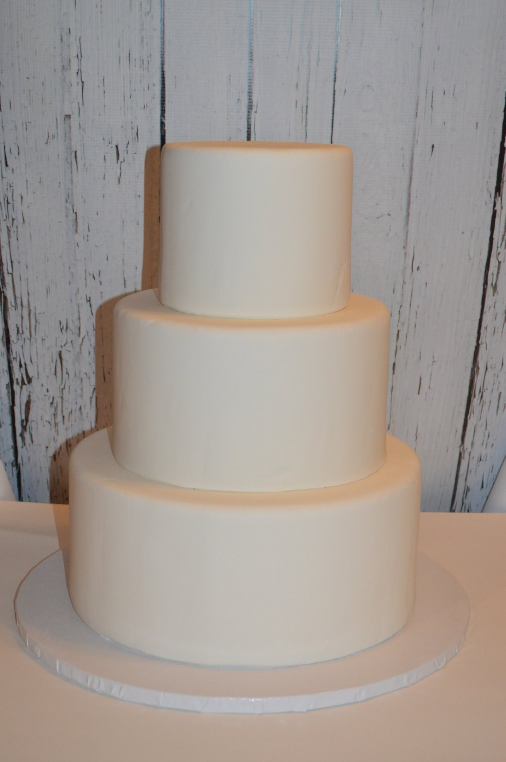 how do you make a fake wedding cake 3 tier faux wedding cake you create wedding cake dummy 15389