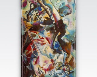 Case for iPhone 8, iPhone 6s,  iPhone 6 Plus,  iPhone 5s,  iPhone SE,  iPhone 5c,  iPhone 7  - Composition VI by Wassily Kandinsky