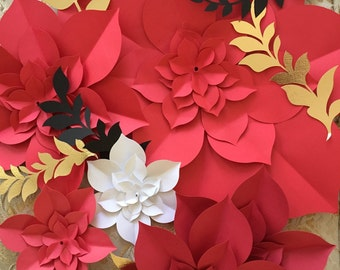 Giant Paper Flowers, Paper Flower Backdrop