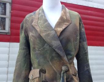 Vintage Blazer, Vintage Blazer Jacket from the 1990s, Vintage 1990s Blazer, 1980s Business Suit
