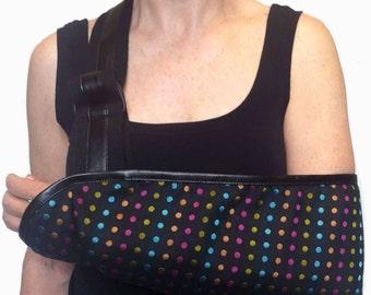 Disco Dot Designer Fashion Arm Sling