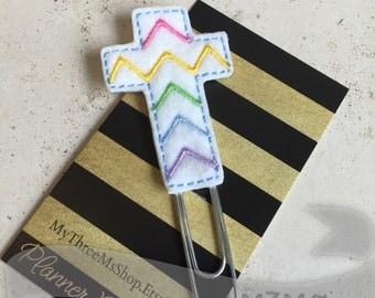 Planner Clip, Cross Feltie Planner Clip, Religous Bookmark, Feltie Paperclip, Felt Bookmark, Cross Bookmark, Bible Bookmark,Sunday School