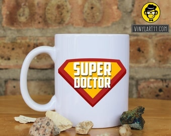 Super Doctor  Mug Super professions mug mothers's day gift Christmas Birthday Gift Present Personalized professions  mug office