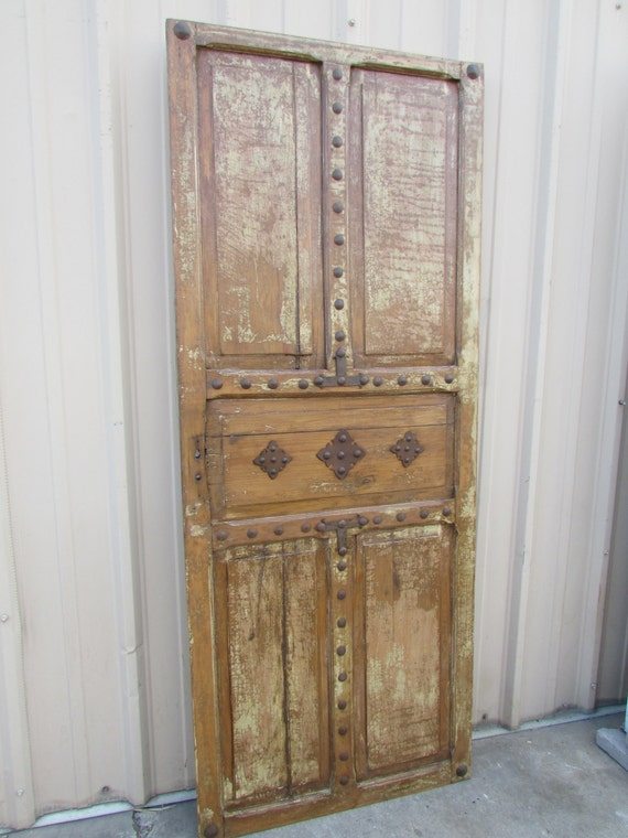 Antique mexican old door by ranchoadobe on etsy