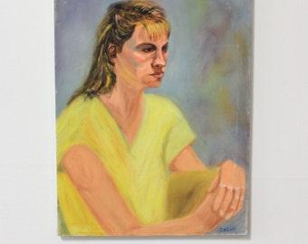Isbell, Original Portrait of a woman