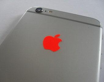 Fluorescent Orange iPhone 4/4S/5/5S/6/6/6S/7 Plus Decal